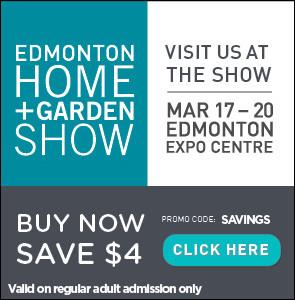 Home & Garden Show Discount Button